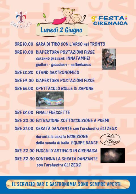 Festa Cirenaica Valle di Gardone