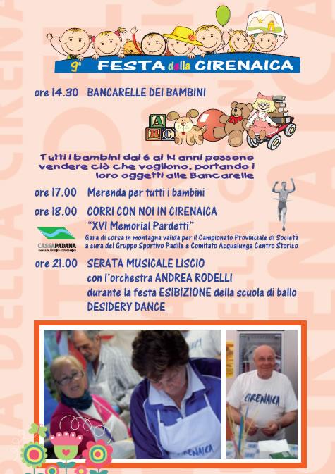 Festa Cirenaica in Valle di Gardone