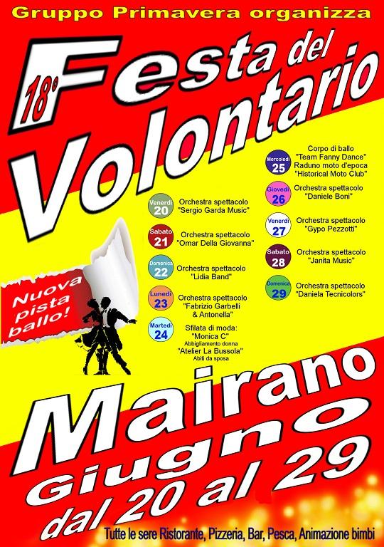 Festa Del Volontario 2014 Mairano
