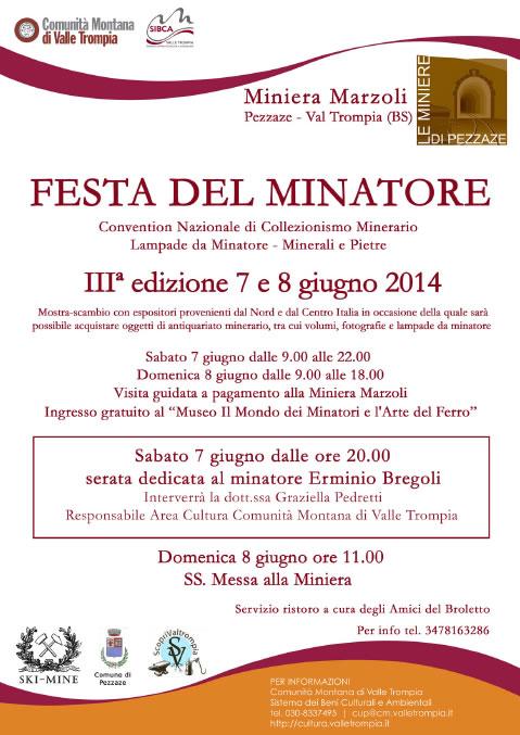 Festa del Minatore a Pezzaze