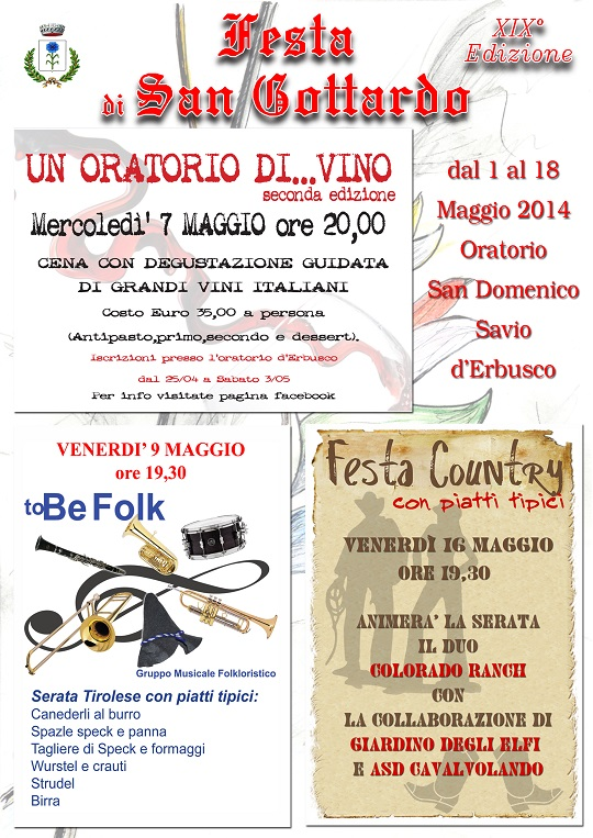Festa di San Gottardo 2014 Erbusco b