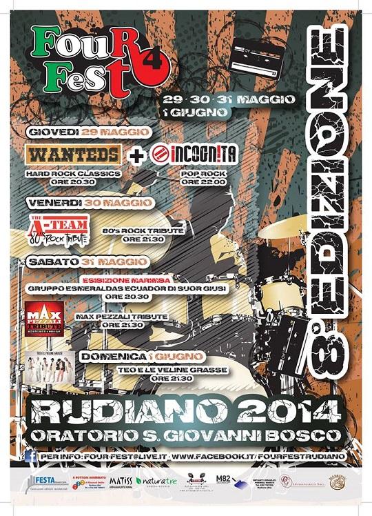 Four Fest 2014 Rudiano