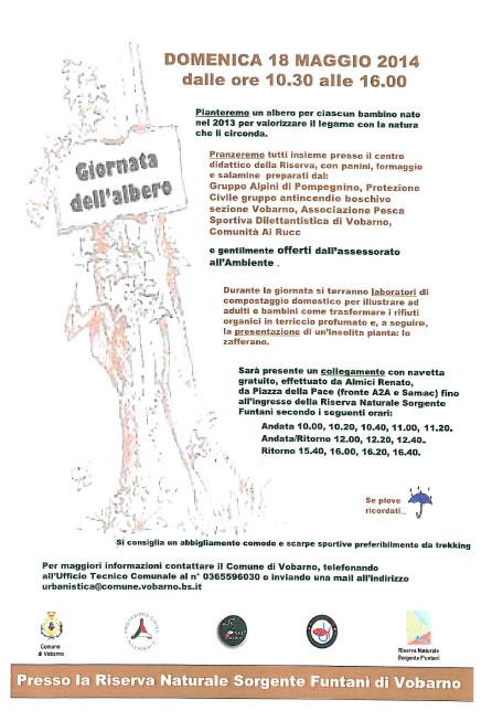 Giornata dell'Albero a Vobarno