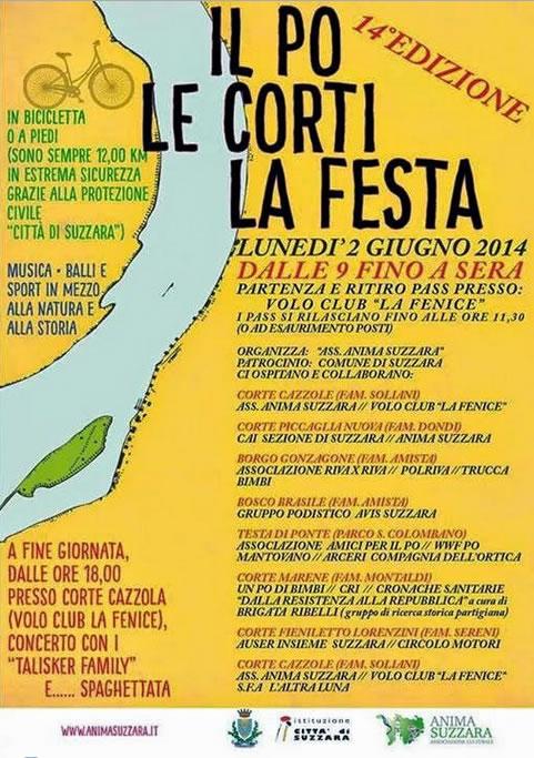 Il Po Le Corti La Festa a Suzzara (MN)