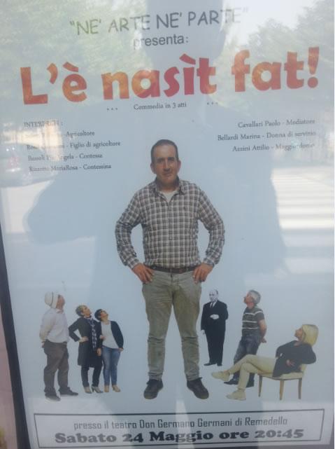 L'E' Nasit Fat a Remedello