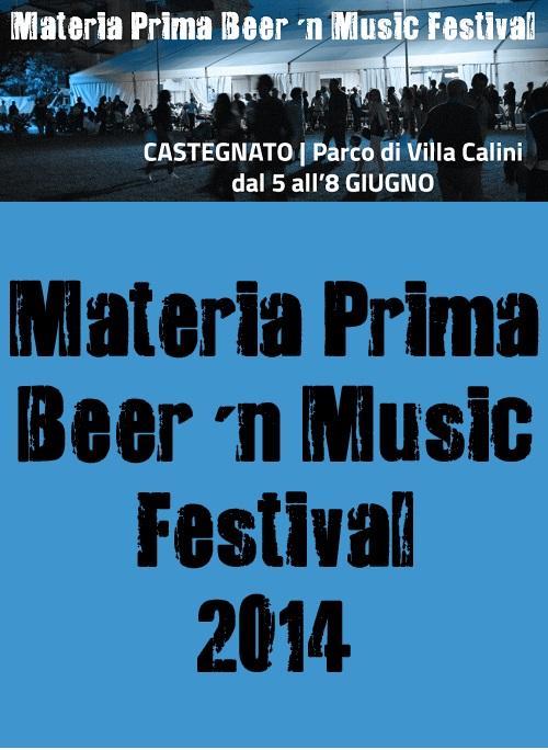 Materia Prima Beer'n Music Festival 2014 Castegnato