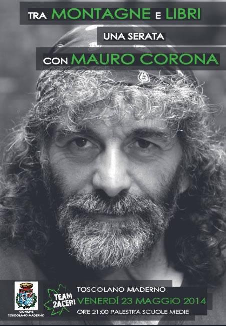 Mauro Corona a Toscolano Maderno