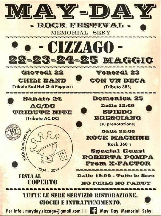 May Day Rock Festival 2014 Cizzago