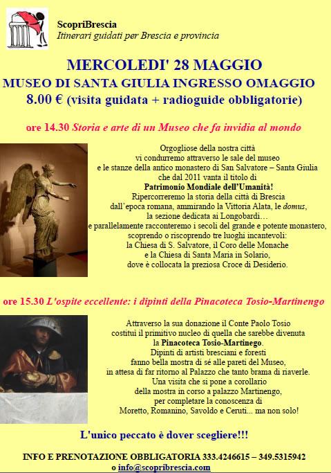 Museo di Santa Giulia con ScopriBrescia
