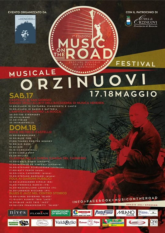 Music on the road Orzinuovi 2014