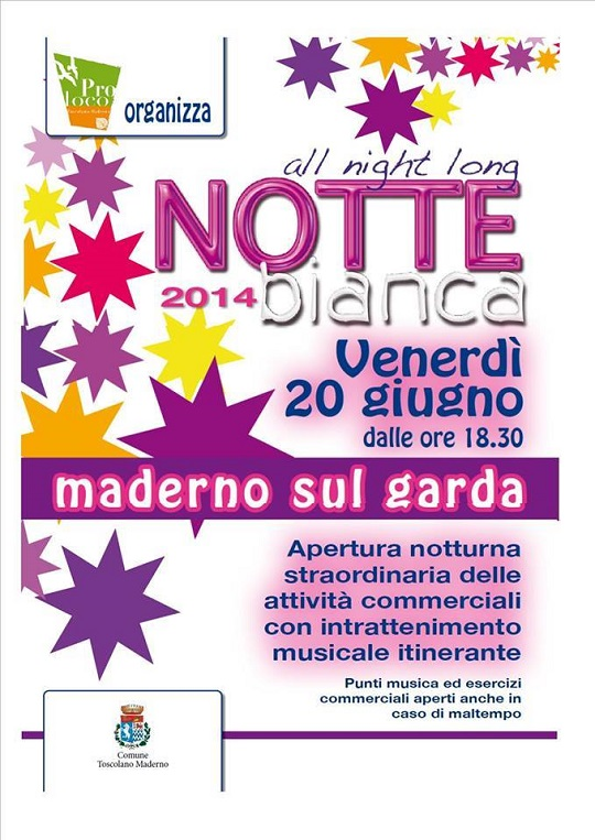 Notte Bianca 2014 Toscolano Maderno