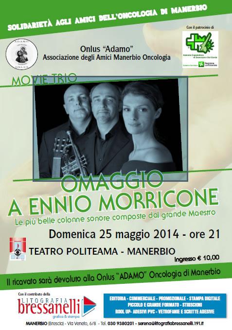 Omaggio a Ennio Morricone a Manerbio