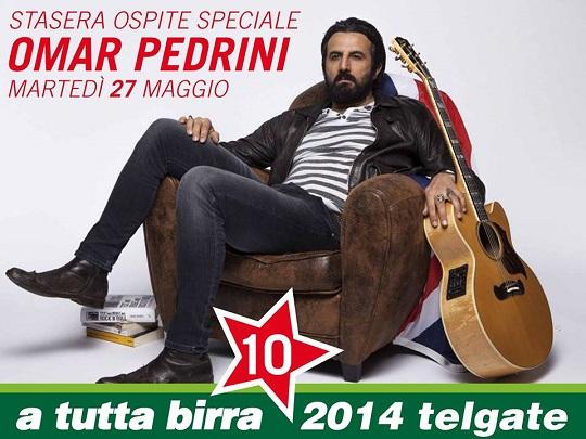 Omar Pedrini a Telgate (BG) a Tutta Birra 2014