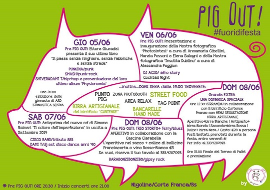 PIG OUT 2014 Cortefranca