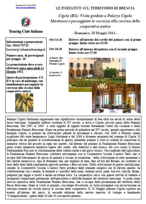 Palazzo Cigola Martinoni con TCI