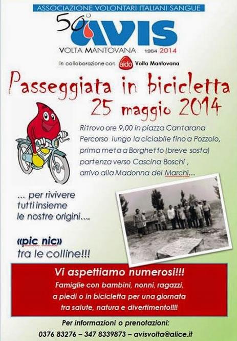 Passeggiata in Bicicletta a Volta Mantovana
