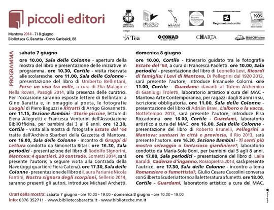 Piccoli Editori  Mantova