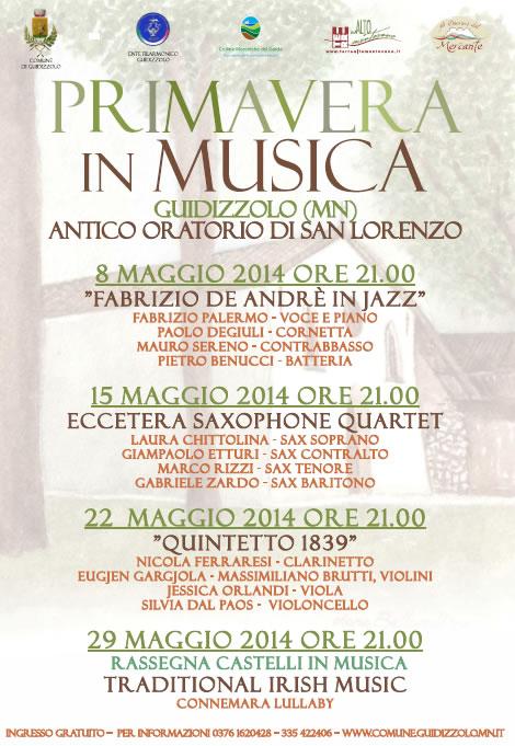 Primavera in Musica a Guidizzolo (MN)