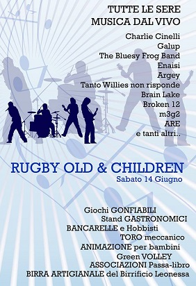 Rugby Night Fest 2014 Roncadelle programma
