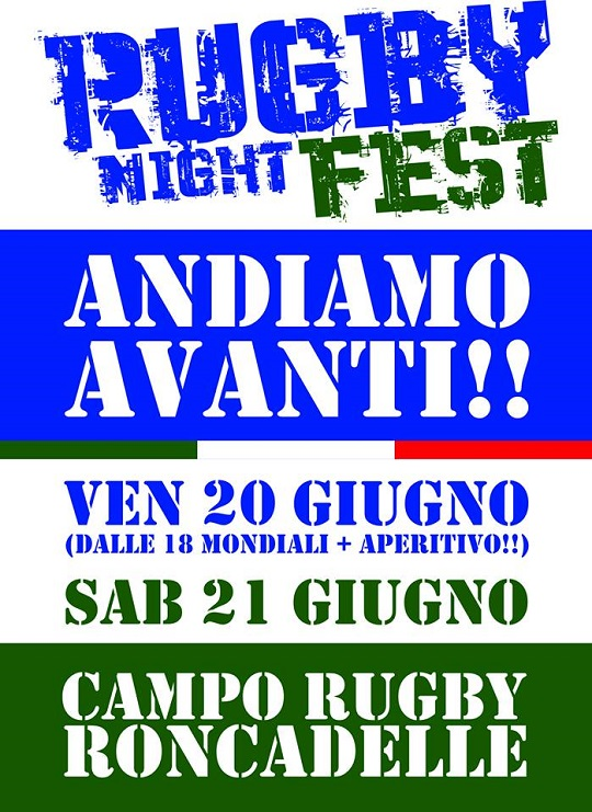 Rugby Night Fest Roncadelle 2014