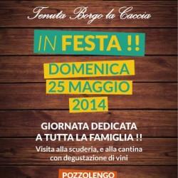 Tenuta Borgo La Caccia in Festa 2014 Pozzolengo