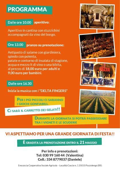 Tenuta Borgo La Caccia in Festa 2014 Pozzolengo Programma