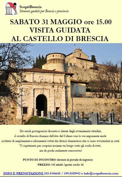 Visita al Castello di Brescia con ScopriBrescia