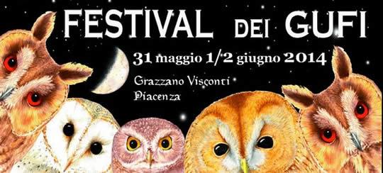 festival dei gufi a Grazzano Visconti