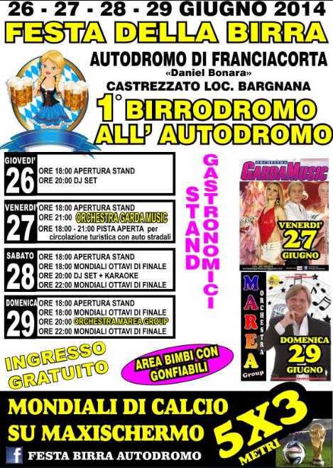 1° Birrodromo all'Autodromo di Castrezzato