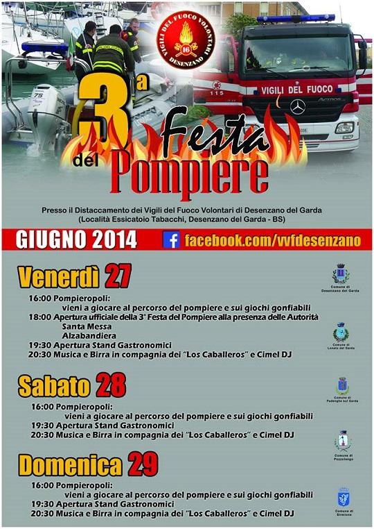 3a Festa del Pompiere 2014 Desenzano