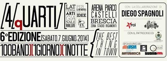 4/qUARTI 2014 - VI Edizione Brescia