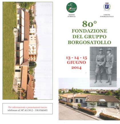 80° Fondazione del Gruppo Alpini di Borgosatollo
