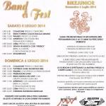 Band & Fest 2014 Polaveno Programma