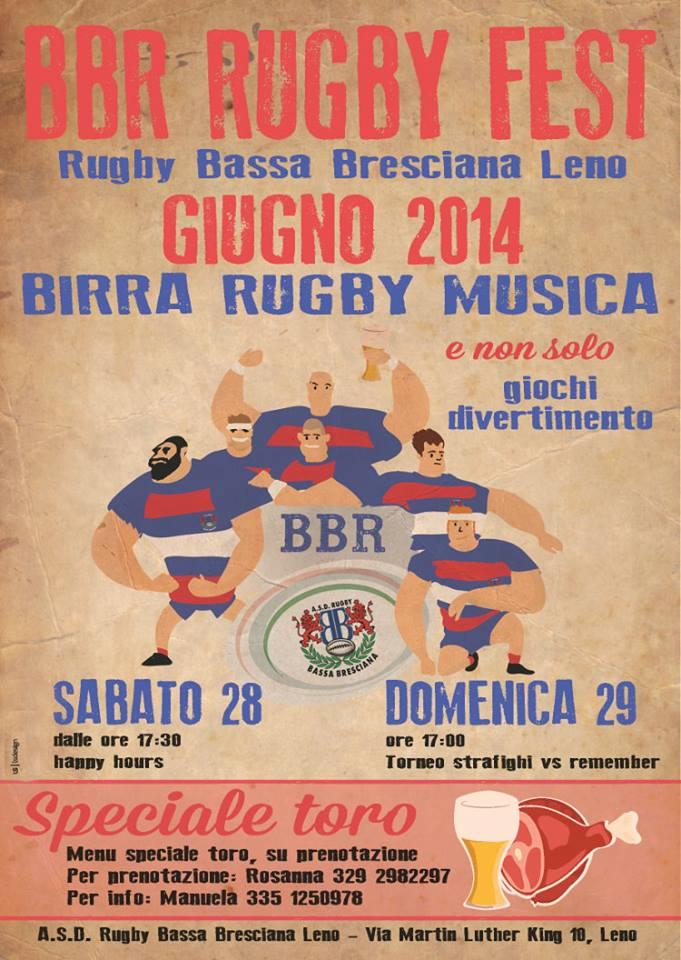 Bassa Bresciana Rugby Fest a Leno