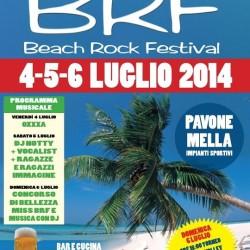 Beack Rock Festival 2014 Pavone del Mella