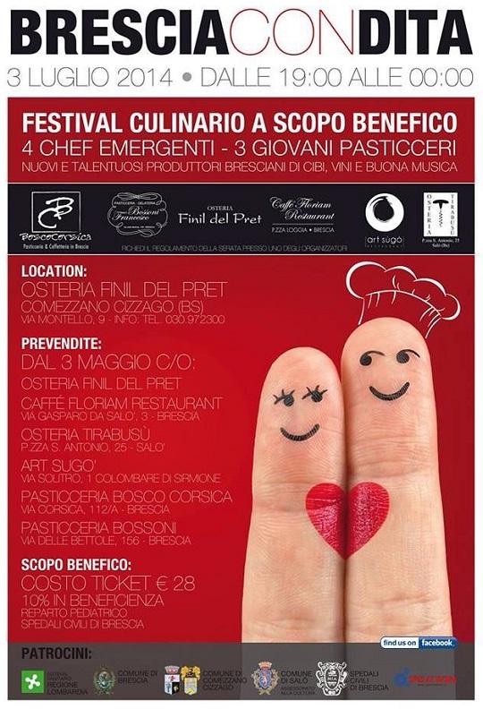 Brescia Con Dita 2014 Locandina