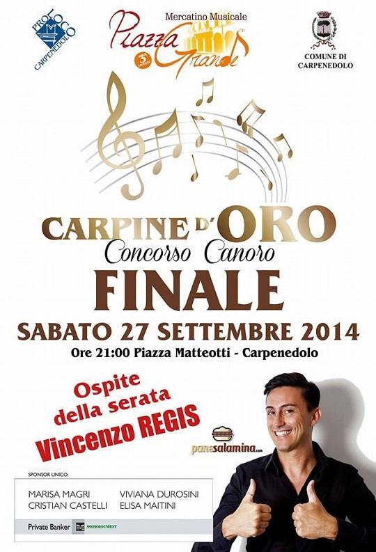 Carpine d'oro finale Carpenedolo 2014