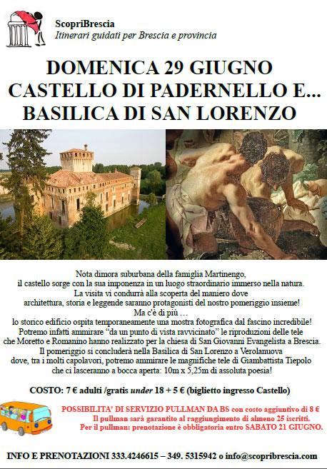 Castello di Padernello con ScopriBrescia