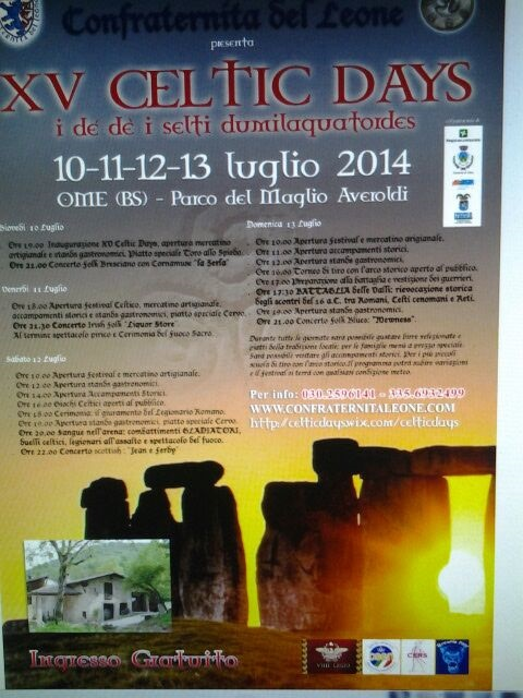 Celtic Days 2014 Ome