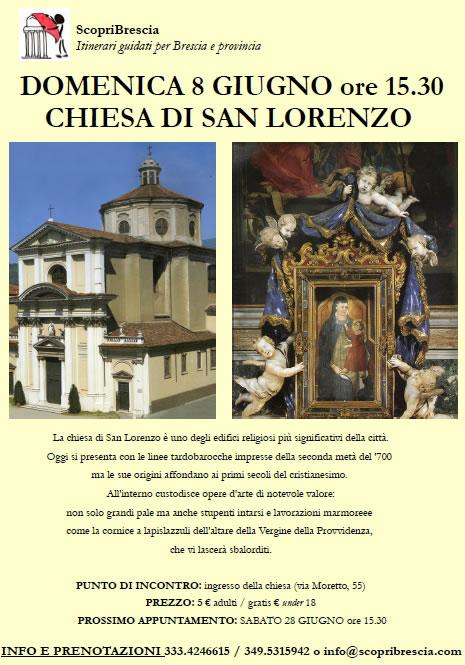 Chiesa di San Lorenzo con ScopriBrescia