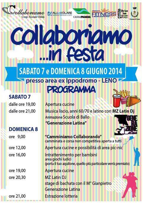 Collaboriamo in Festa 2014 Leno
