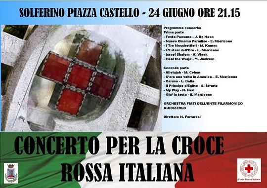 Concerto per la Croce Rossa 2014 Solferino (MN)