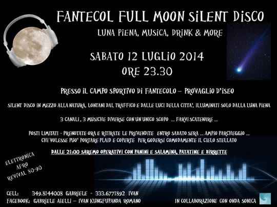 Fantecol Full Moon Silent a Provaglio d'Iseo