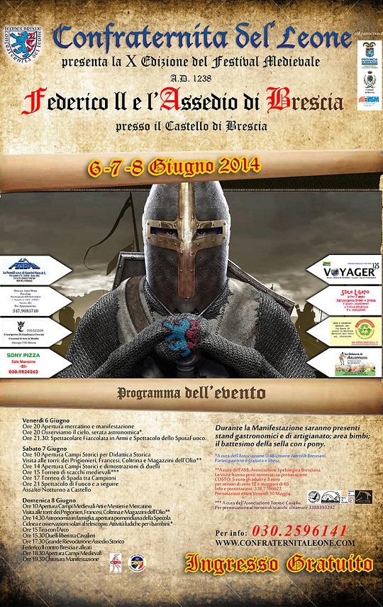 Federico II e l'assedio di Brescia 2014 loc