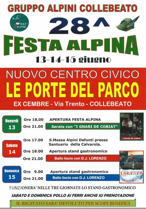 Festa Alpina a Collebeato