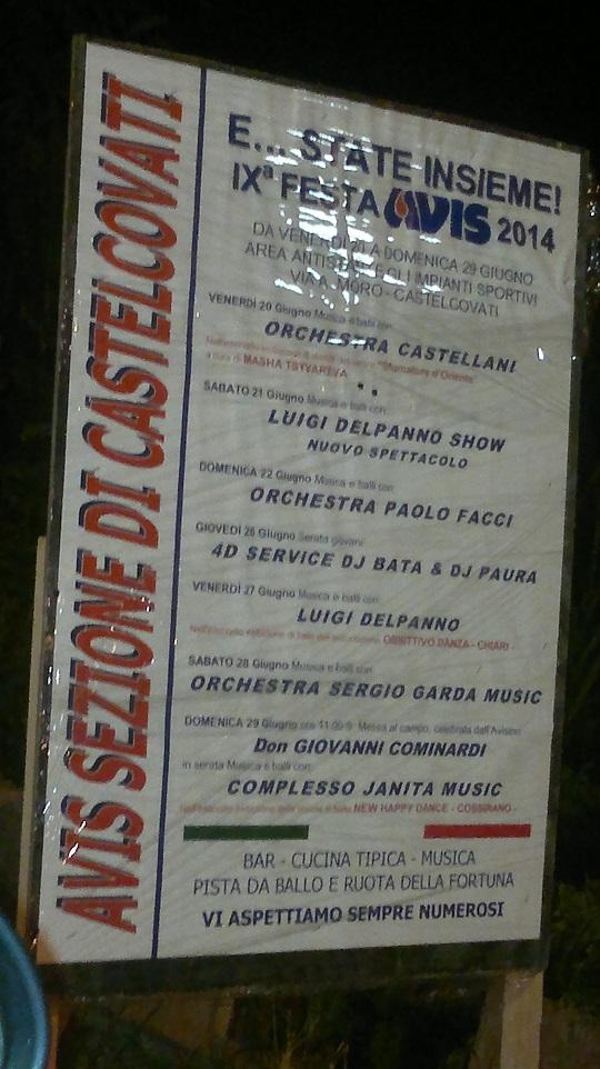 Festa Avis 2014 Castelcovati