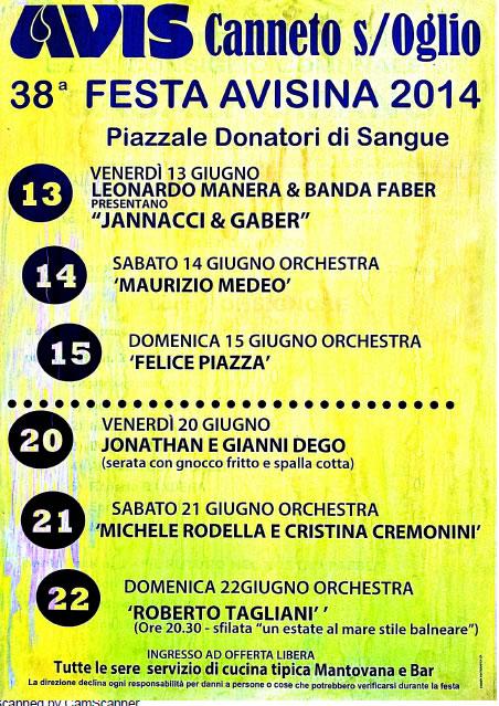 Festa Avisina a Canneto SOglio (MN)