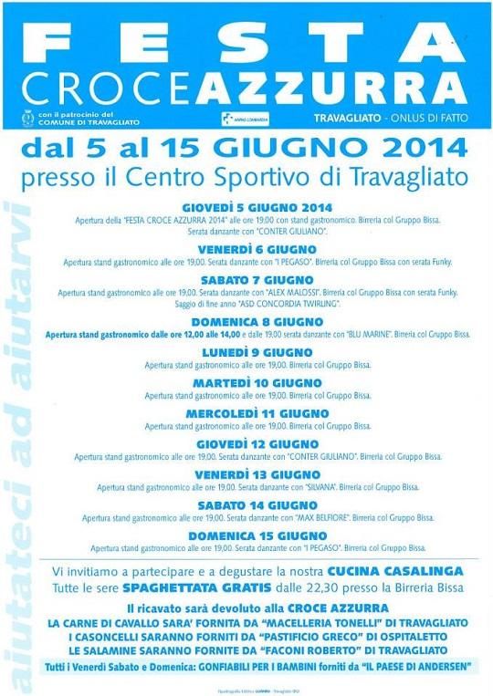 Festa Croce Azzurra Travagliato 2014