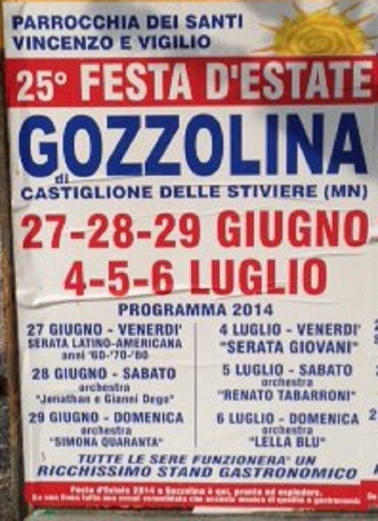Festa D'Estate Gozzolina (MN) 2014
