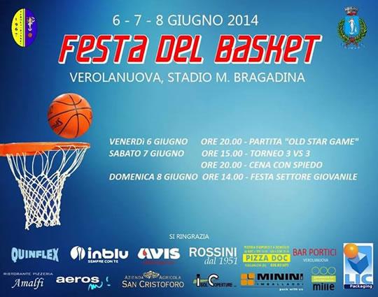 Festa del Basket a Verolanuova